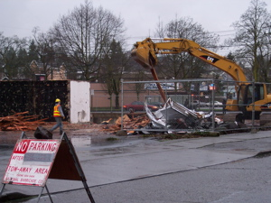 Bank Demolition